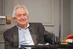 Michel Odent is a Famous French doctor Stock Images