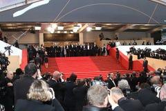 Michel Piccoli, diretor Nanni Moretti, Jerzy Stu Fotos de Stock