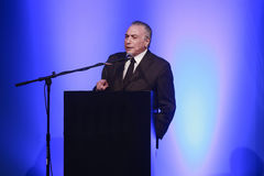 Michel temer, vice president of brazil Royalty Free Stock Photography