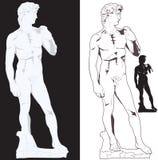 Michelangelo David Zdjęcie Royalty Free