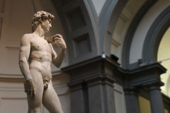 Michelangelo David, angelo di David Miguel, originale Fotografia Stock