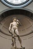 Michelangelo David, de engel van David Miguel, frontale originele abajo Royalty-vrije Stock Afbeeldingen
