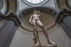 Michelangelo David statue in Accademia, Florence, Italy Royalty Free Stock Photography