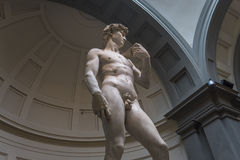 Michelangelo David statue in Accademia, Florence, Italy Royalty Free Stock Image