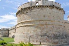Michelangelo Fortress, Civitavecchia stock foto's