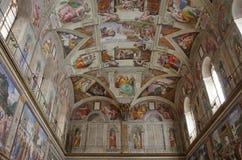 Michelangelo-Malereien stockfoto
