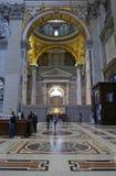 Michelangelo Masterpiece im Heiligen Peter Basilica Lizenzfreies Stockbild