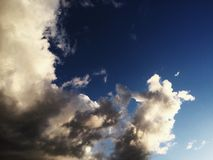 Michelangelo moln Arkivfoton