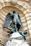 Michelangelo monument. In paris france royalty free stock photography
