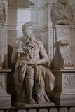michelangelo Moses obraz royalty free