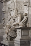 Michelangelo Moses Tomb of Pope Julius II - Rome Royalty Free Stock Image