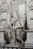 Michelangelo Moses Tomb of Pope Julius II - Rome Stock Photos