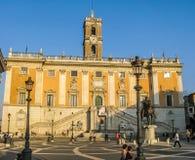 Michelangelo Piazza Del Campidoglio foto de stock