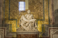 Michelangelo Pieta Statue Royalty Free Stock Photos