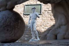 Michelangelo's David Stock Photo
