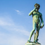 Michelangelo& x27; s David arkivbilder