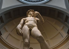 Michelangelo-` s David Stockbild