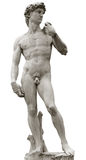 Michelangelo's David with clipping path Royalty Free Stock Photography