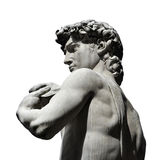 Michelangelo`s David with copy space Royalty Free Stock Photography