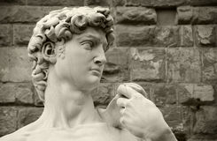 Michelangelo's David, Florence Italy Royalty Free Stock Photos