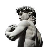 Michelangelo-` s David mit Kopienraum lizenzfreie stockfotografie