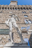 Michelangelo's David statue in Florence, Italy Royalty Free Stock Photography