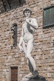 Michelangelo's David statue in Florence, Italy Stock Images
