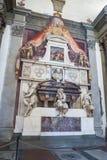 Michelangelo ` s grobowiec w bazylice Santa Croce, Florencja Zdjęcie Royalty Free