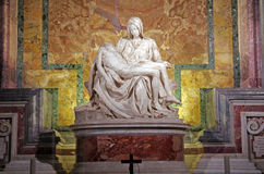 Michelangelo's Pieta Royalty Free Stock Images