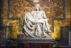 Michelangelo's Pieta Royalty Free Stock Photography