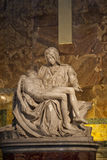 Michelangelo's Pieta in St. Peter's Basilica Royalty Free Stock Image