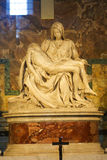 Michelangelo's Pieta in St. Peter's Basilica Stock Photo