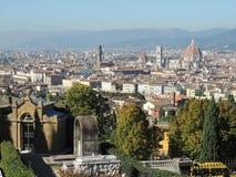 Michelangelo Square Florence stock afbeeldingen
