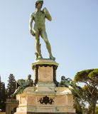Michelangelo square Royalty Free Stock Images