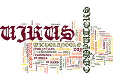 The Michelangelo Virus Hype And Fizzle Text Background  Word Cloud Concept Stock Images