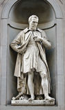 Michelangelo Buonarroti statue Royalty Free Stock Photo
