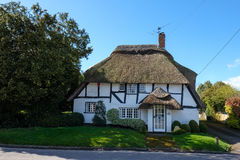 MICHELDEVER, HAMPSHIRE/UK - MARCH 21 : View of a Thatched Cottag Royalty Free Stock Image