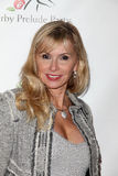 Michele Berk no partido do prelúdio de Los Angeles Derby, a Londres, Hollywood ocidental, CA 01-12-12 Fotos de Stock Royalty Free