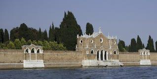 michele cmentarniane ściany San Venice Zdjęcia Stock