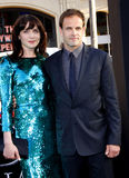 Michele Hicks and Jonny Lee Miller Stock Photos