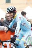 Michele Scarponi Team Astana Royalty Free Stock Photo