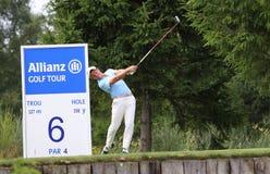 Michele Zanini am Golf Prevens Trpohee 2009 Lizenzfreie Stockfotografie