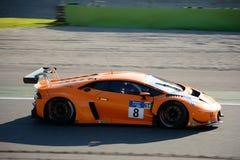 Michelin Le Mans Cup Lamborghini Huracà ¡ n Royaltyfri Fotografi