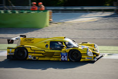 Michelin Le Mans Cup Sports Prototype Arkivfoto