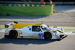 Michelin Le Mans Cup Sports Prototype Arkivbild