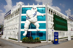 Michelin Pavilion, BOI Fair 2011 Thailand Stock Photos