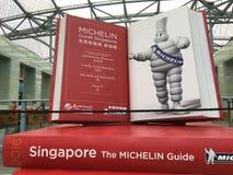 Michelin przewdonik Singapur Obraz Stock