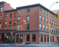 Michelin Star tilldelade Peter Luger Steak House som lokaliserades i Williamsburg, Brooklyn Royaltyfri Fotografi