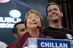 Michelle Bachelet royaltyfri fotografi