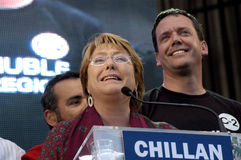 Michelle Bachelet Fotografia Royalty Free